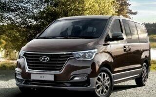Комфорт и безопасность модели Hyundai H-1